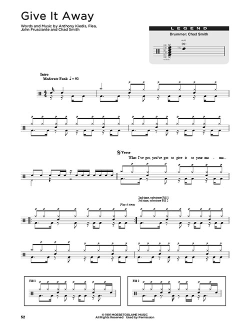 partition batterie song 2